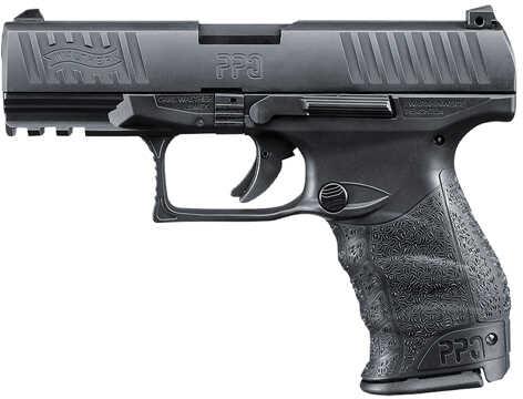 "Pistol Walther PPQ M2 9mm Luger 4"" Black 10 Round 2796067"