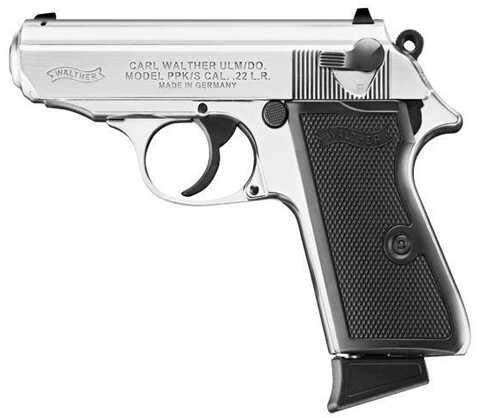 "Walther PPK/S 22 Long Rifle 3.5"" Barrel 10 Round Pistol Semi Automatic Pistol 503-03-20"