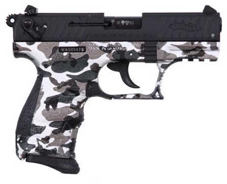 "Walther TALO P22 22 Long Rifle 3.42"" Barrel 10 Round Urban Camo Semi Automatic Pistol 81180"