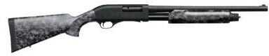 "Weatherby PA-08 Threat Response 12 Gauge 18.5"" Barrel 3"" Chamber 4 Rounds Skull Pattern Black Finish Pump Action Shotgun PA08STR1219P"