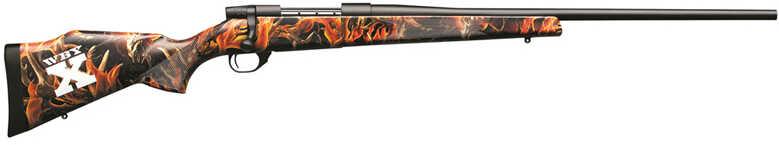 "Weatherby Vanguard WBY-X Series 2 Bolt Action Rifle 243 Winchester 24"" Barrel 5 Rounds Boneyard Blaze Camo StockVBZ243NR4O"