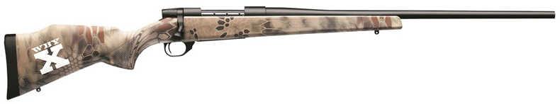 Weatherby WBY-X Vanguard 2 Kryptek Camo 243 Winchester Bolt Action Centerfire Rifle Matte Finish 5+1 Rounds VXK243NR4O
