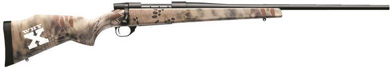 "Weatherby Weatherby-X Vanguard 2 270 Winchester 24"" Matte Black Bead Blasted Finished Barrel Kryptek Highlander Reduced Camo Stock 5+1 Rounds Bolt Action Rifle VXK270NR4O"