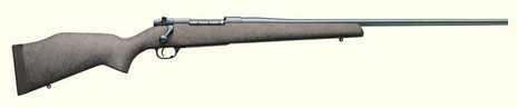 """Weatherby Mark V Fibermark 300 Winchester Magnum 24"""" Blued Barrel Composite Stock Bolt Action Rifle FGM300NR4O"""