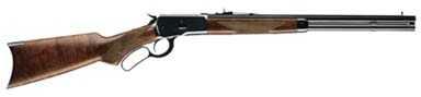 "Winchester 1892 45 Colt 20"" Button Magazine 20"" Half Octagon Gloss Blued Barrel Walnut Stock 534194141"